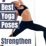 Here are some great yoga poses that ou can still do if you have bad knees. These yoga poses will also help to strengthen your knees.