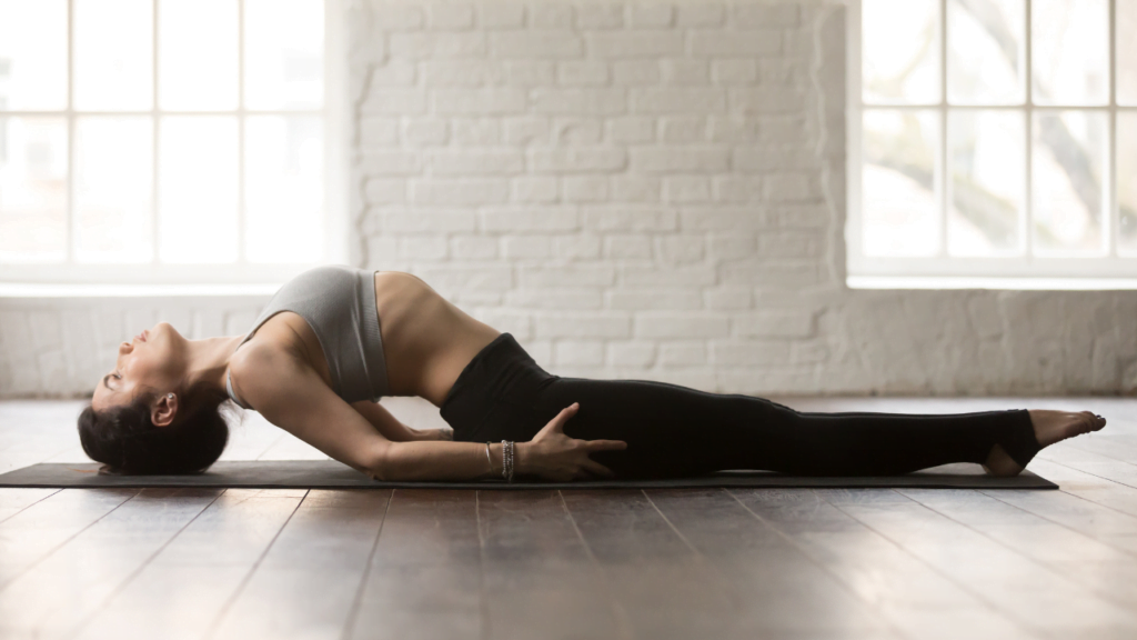 Heart opening yoga poses to improve posture.
