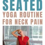 Sitting at your desk can cause neck pain, do this 5 minute yoga routine every day for instant relief.