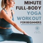 This 10-minute full body yoga workout, it is great for beginners who have just started doing yoga from home.