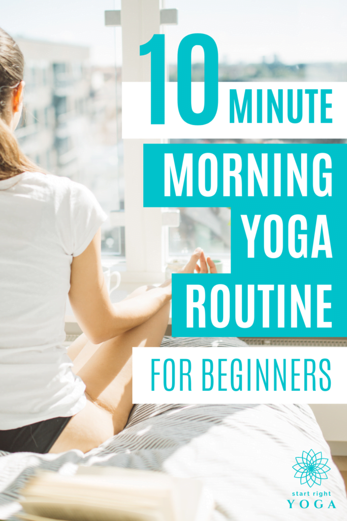This quick 10-minute yoga routine for beginners is the morning kick start you need to start your day.
