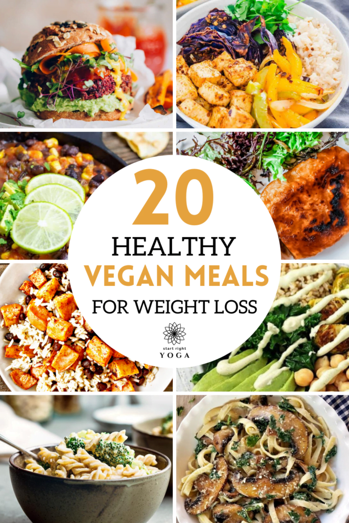 These healthy vegan meals for weight loss are so yummy. The whole family will love them.