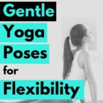 These beginner's yoga poses will help to gently stretch your muscles, increasing your general flexibility for increased range of motion, reduced muscle and joint aches and pains and better muscle health.