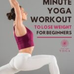 Yoga is great for weight loss, this 20 minute yoga workout for fat loss is gentle and great for the beginner yogi.