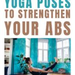 These beginner yoga poses will help strengthen your core for better form in harder yoga poses. 6 beginner core strengthening poses and a quick 10 minute ab workout.