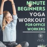 Do this quick 10 minute yoga routine that's ideal for beginners that suffer from lower back pian from their office job.