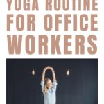 Take 10 minutes to do this gentle yoga routine to help ease back pian caused by your desk job. Yoga poses for office workers.