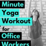Office workers, this quick little yoga workout will help ease your ack pain and associated stiffness caused by sitting at your desk all fay. Its also ideal for beginners that have never done yoga before.