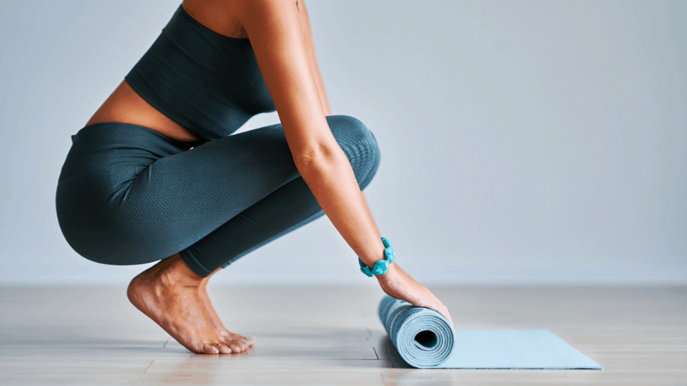 How yoga can help you burn calories and lose wieght.