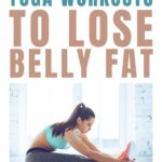 Lose belly fat with these three yoga workouts for beginners that you can do at home in under 30 minutes a day.