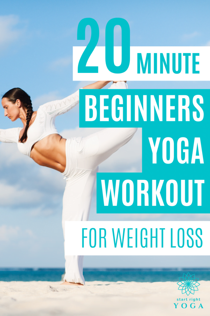 Strip belly fat with this quick 20-minute beginner yoga workout for fat loss. The perfect beginner's yoga routine to help you lose weight and burn calories.